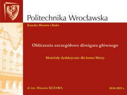 Mosty_ - Katedra Mostów i Kolei Politechniki Wrocławskiej