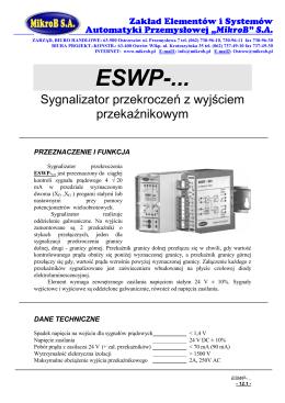 ESWP - (pdf 740KB)
