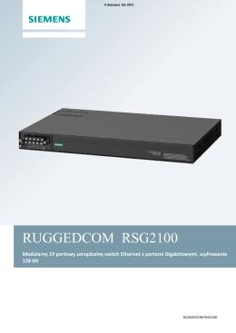 RUGGEDCOM GEDCOM RSG2100