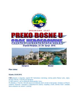 Izlet u BiH - PD Napredak