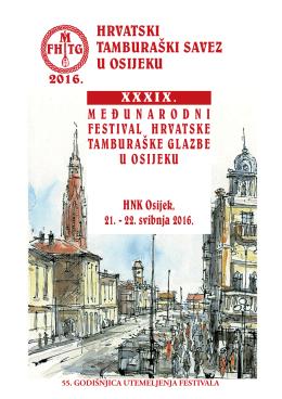 Program Festivala - Hrvatski tamburaški savez u Osijeku