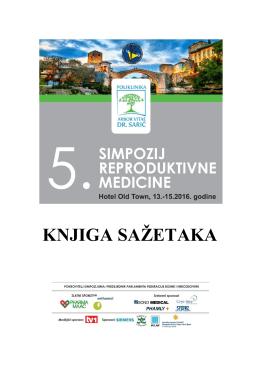knjiga sažetaka - Mostarski dani reproduktivne medicine