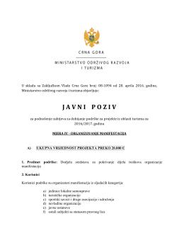 javnipoziv - Vlada Crne Gore