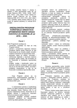 Materijal - Grad Čakovec