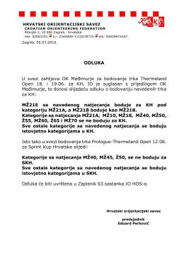 ovdje - Hrvatski orijentacijski savez