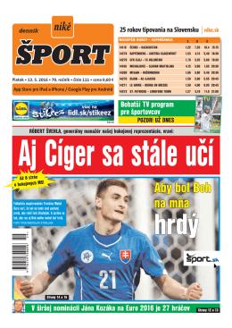 17. mája - Šport.sk
