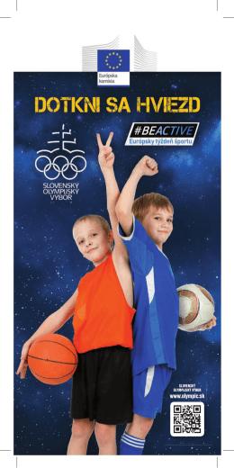 Brožúra Košice. - milujemsport.olympic.sk