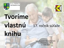 výsledky národného kola - Krajská knižnica v Žiline