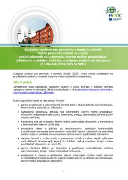 Európske centrum pre prevenciu a kontrolu chorôb