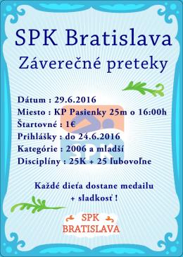 Záverečné preteky SPK Bratislava