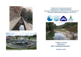 Pozvánka - Výskumný ústav vodného hospodárstva