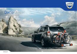 Katalog dodatne opreme Novi Dacia Duster
