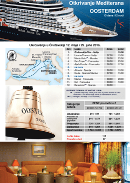 Otkrivanje Mediterana OOSTERDAM