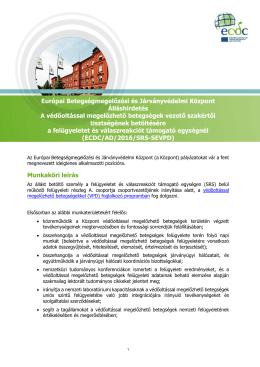 Európai Betegségmegelőzési és Járványvédelmi