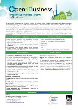 Flyer_HU - Pécs-Baranyai Kereskedelmi és Iparkamara