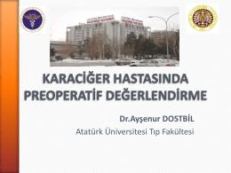 Doç. Dr. Ayşenur Dostbil