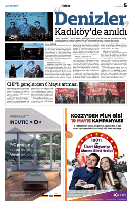 CHP`li gençlerden 6 Mayıs anması