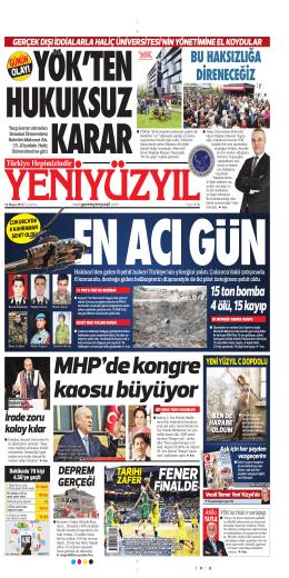 C - Yeni Yüzyıl Gazetesi
