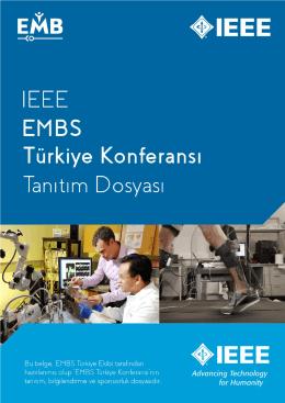 Sponsorluk Dosyası - IEEE EMB Turkey Conference