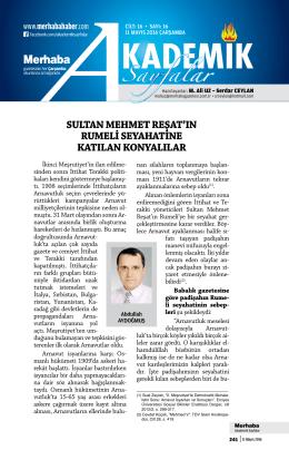 Sayfalar - Merhaba Gazetesi