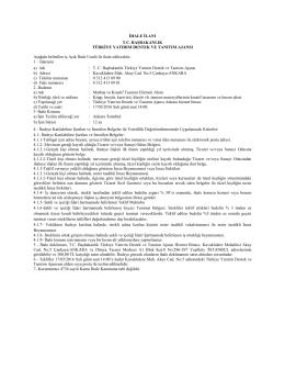 T.C. Başbakanlık Yatırım Destek ve Tanıtım Ajansı Matbaa ve Kreatif