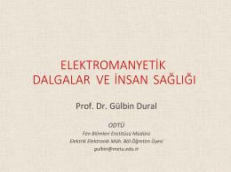 Elektromanyetik Dalgalar ve İnsan Sağlığı
