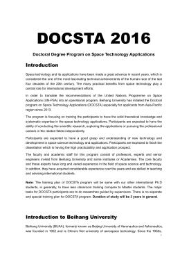 1.DOCSTA-2016 Announcement