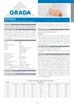 EP FUGA S - Grada.Com.Tr