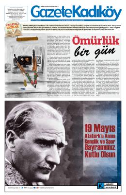 yazılar 1 - Gazete Kadıköy