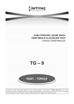 Türkçe Öğretmenliği TG_9