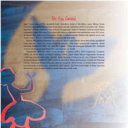 Bir Kış Gecesi - Yapı Kredi Kültür Sanat