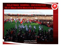 (Microsoft PowerPoint - 2016 MEZUN\335YET ORGAN