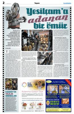 yazlık - Gazete Kadıköy