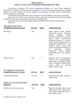 fen edebiyat fakültesi - euygulama.dpb.gov.tr