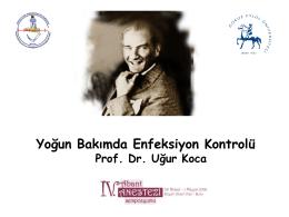 Prof. Dr. Uğur Koca