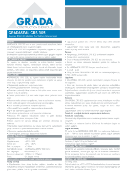 GRADASEAL CRS 305