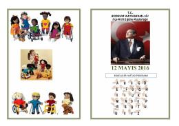 12 mayıs 2016 - bodrum ilçe millî eğitim müdürlüğü