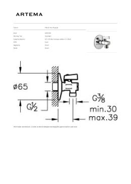 Tanım Filtreli Ara Musluk Kod A45200 Montaj Tipi Standart Çalışma