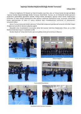 Japonya İstanbul Başkonsolosluğu Kendo Turnuvası (5/12)