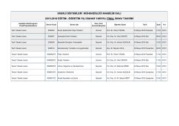 enerji sistemleri mühendisliği anabilim dalı 2015