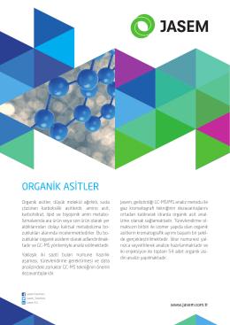 organik asitler