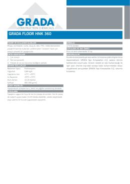 GRADA FLOOR HNK 360