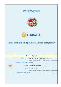 heptatlon – yıldız kızlar - Türkiye Atletizm Federasyonu