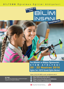 BİLTEM STEM Posteri1