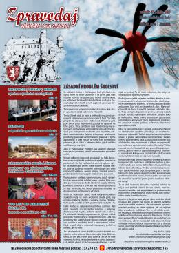 Zpravodaj - Oficiální stránky Města Mníšek pod Brdy