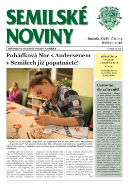 aktuální číslo semilských novin