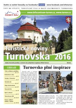 Turistické noviny Turnovska 2016