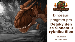 Tyranosaurus rex - Adam | 90 minut
