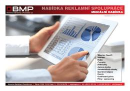 Kompletní nabídka BMP a.s. ke stažení v PDF zde.