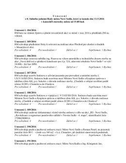 8. rm - 11.5.2016 usnesení